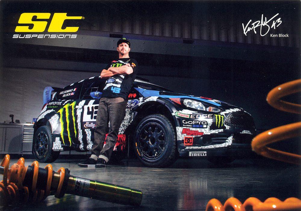 Ford Fiesta RS WRC, #43, 21,0 x 14,8 cms
