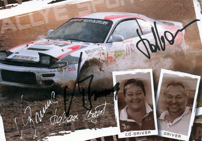Toyota Celica Turbo 4WD ST185, #48, 2. Thayaland Rallye 2012, 14,8 x 10,3 cms
