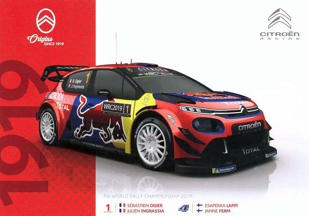 Citroën C3 WRC, #1
