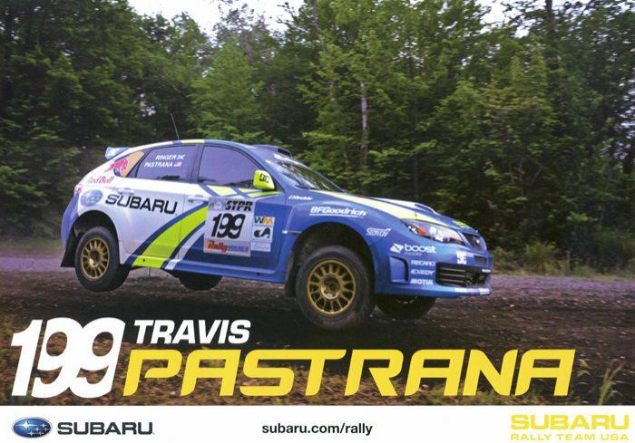 Subaru Impreza STI, #199, 22,9 x 16,5 cms