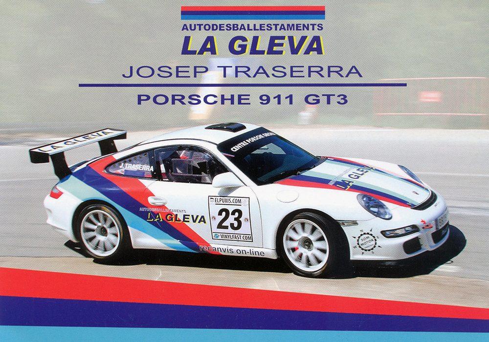 Porsche 911 GT3 RS 3.6, #23, 20,9 x 14,8 cms