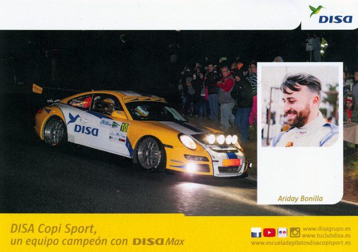 Porsche 997 GT3 RS 3.6, #10, 39. Rally Islas Canarias - El Corte Inglés 2015, 14,8 x 10,5 cms