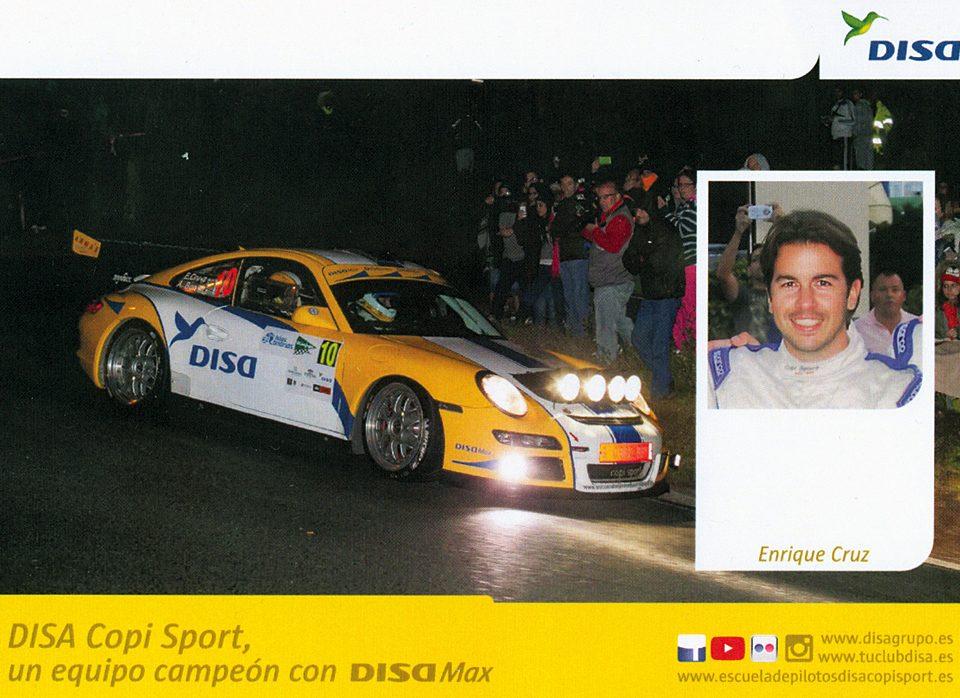 CRUZ Enrique - BONILLA Ariday, Porsche 997 GT3 RS 3.6, #10, 39. Rally Islas Canarias - El Corte Inglés 2015, 14,8 x 10,5 cms