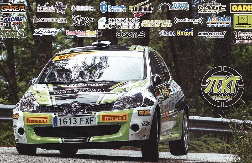 GRANDAL GRAÑA David - POMBO Sergio, Renault Clio R3, #11, 21. Rallye de A Coruña 2017, 17,8 x 11,0 cms