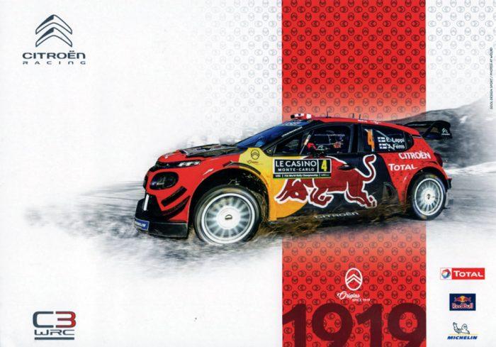 Citroën Total WRT - Citroën C3 WRC
