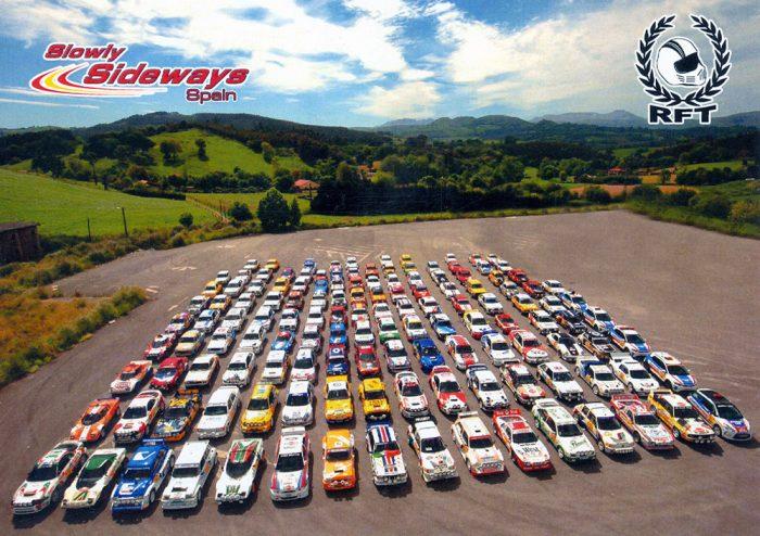 Rallye Festival Trasmiera 2018, 17,5 x 12,6 cms