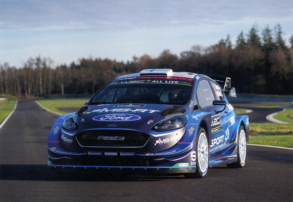 SUNINEN Teemu - SALMINEN Marko, Ford Fiesta WRC, #3, 21,0 x 14,8 cms